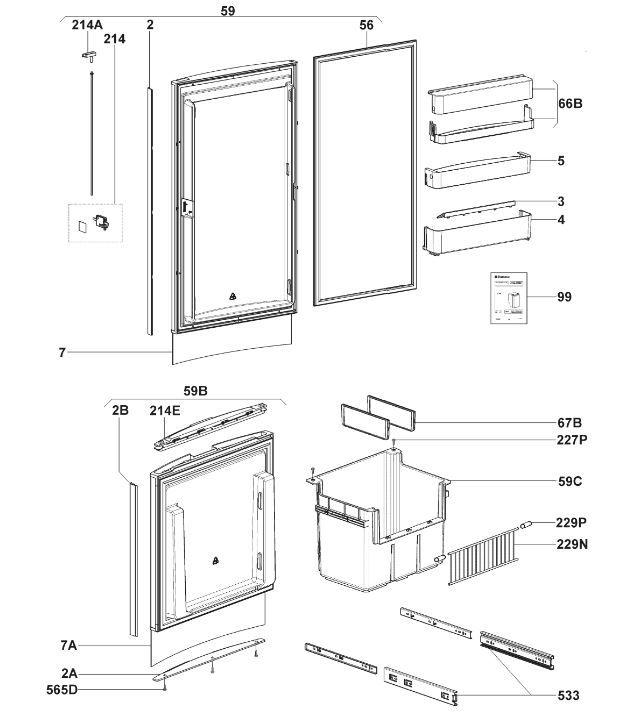 RMF8505 C10 Doors