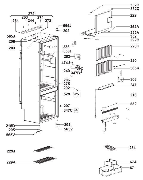 RMF8505 Interior Cabinet