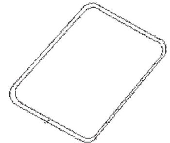 (013) Dometic Spare B40D Coolbox Lid Seal (4450 00 26-25)