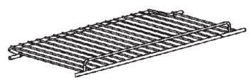 (229A) Dometic Electrolux RM7605L & RM7655L Middle or Lower Shelf (1pcs) 209x442mm [Finish: Zinc-Plated] (241 29 43-00)