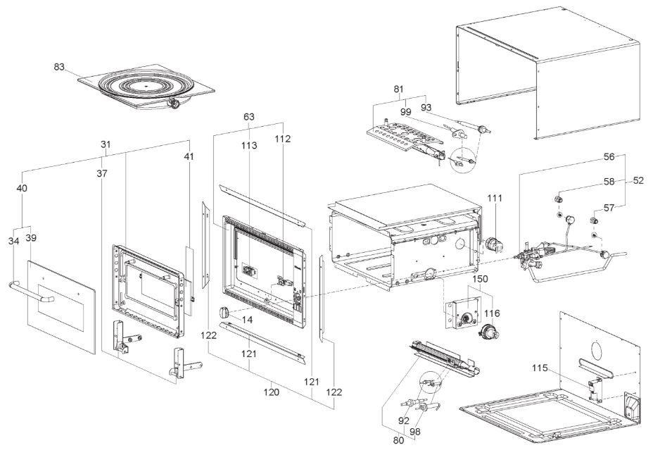 OG2000 Oven & Grill (PNC. 958050501)