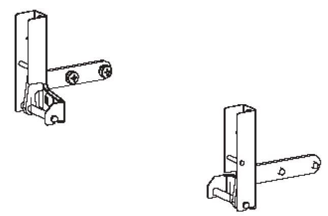 (037) Dometic Spare OG2000 & OG3000 Series Oven Door Hinges PAIR (105 31 03-25)