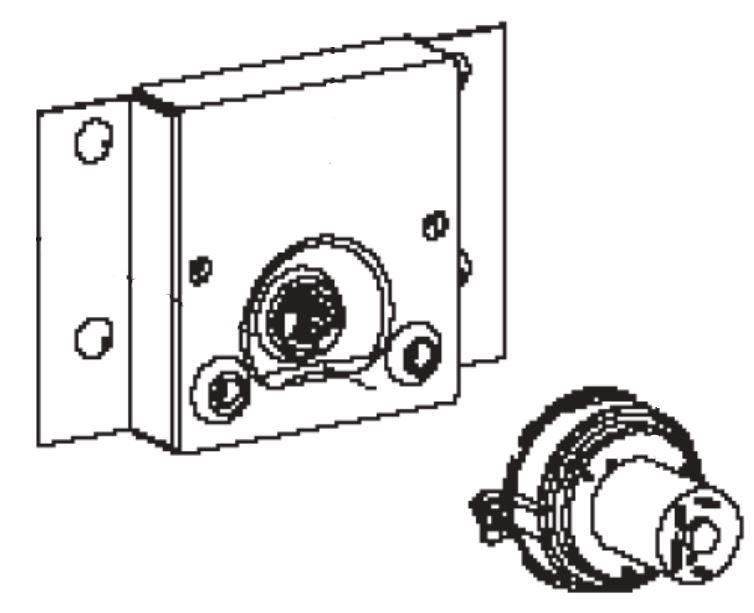 (150) Dometic SMEV Spare OG2000 & OG3000 Motor Bracket and Housing Assembly For Rotating Tray (105 31 20-54)