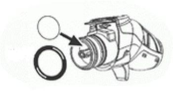 (015) Truma Spare 40060-97700 Ultraflow Pistol Housing For Shower, Pump & Waterline Assembly