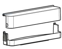 (066B) Dometic Spare RM8500 Series Upper Door Shelf With Cover (289 02 35-20) (old Code: 241 39 38-00)