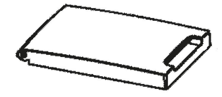 (019) Dometic WAECO Spare TC-21 Cool-box Lid Complete [Colour: Grey] (4451