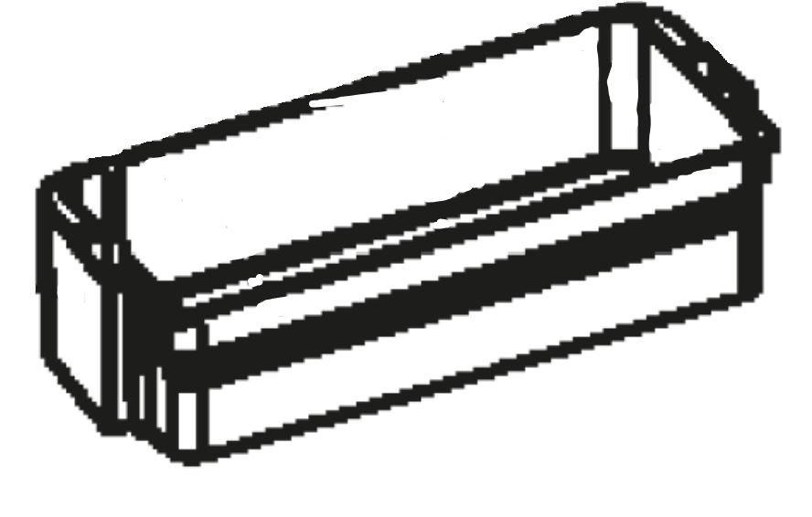 (037) Dometic WAECO Spare CR(X)-110 Lower Door Bin [Colour: White] (4450 00