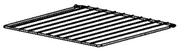 (084) Dometic SMEV Spare CU333 Oven Compartment Shelf Zinc Plated [245x291mm] (105 31 06-51)