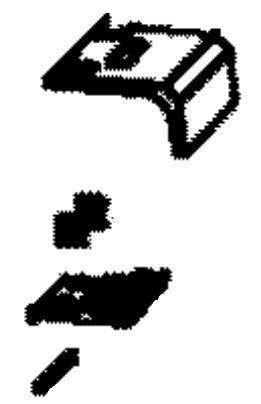 (041) Dometic Spare CRE Series Door Lock Mechanism Complete [Colour: Black] (4450 01 86-22)
