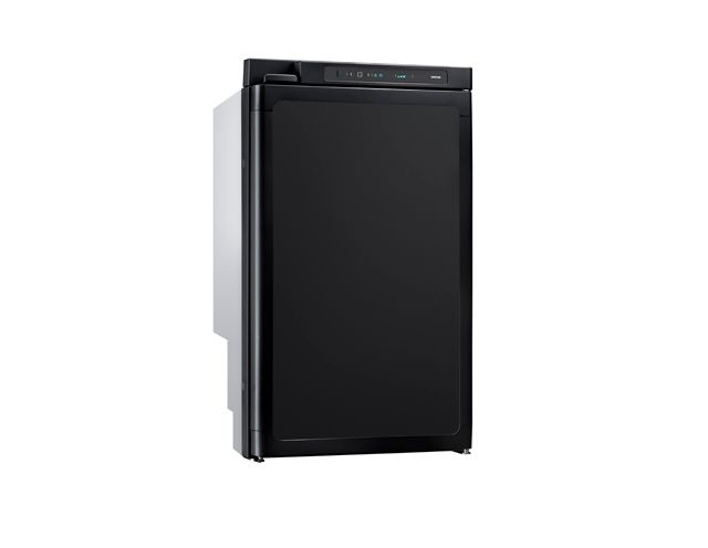 THETFORD N4080E+ Absorption Refrigerator 81L w/ 10L Freezer Auto Energy Selection  LED Control Panel Wheel Arch Model [Colour: Black] FRAMED VERSION
