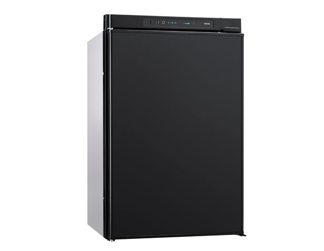 THETFORD N4100E+ Absorption Refrigerator 97L w/ 11L Freezer Auto Energy Selection LED Control Panel [Colour: Black] FRAMED VERSION