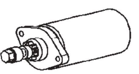 (051) Dometic Spare TEC29 Generator 12/230 Volt Replacement Motor (386 72 0