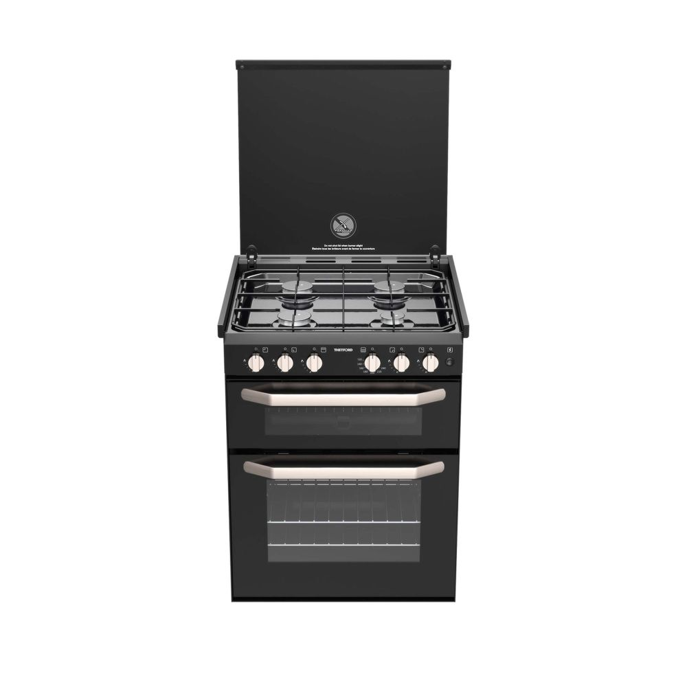 THETFORD K1520 Gas Cooker 4 Gas Burners w/ Grill, 12 Volt IGN & Lid Shut-Off (SCK41999-SP)