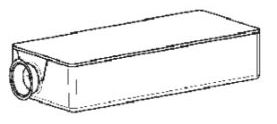 (018) Dometic Spare VT2500 Vacuum Toilet Cassette Filter Complete (242 60 01-14)