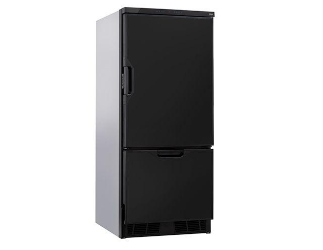 THETFORD T2160 Compressor Refrigerator 158L w/ 30.5L Draw Style Freezer Compartment Automatic Temperature Control [Colour: Black]