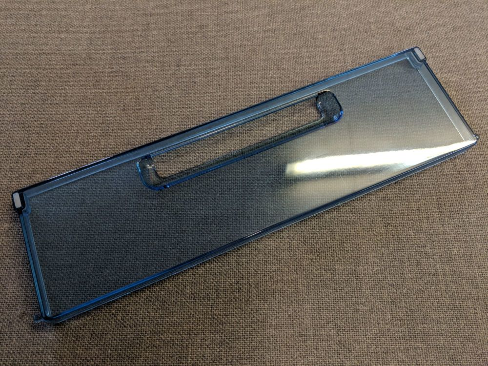 (049) Dometic WAECO Spare CR(X)-80 Lower Salad Tray Door Complete [Colour: Ice Blue] (4450 00 74-24)
