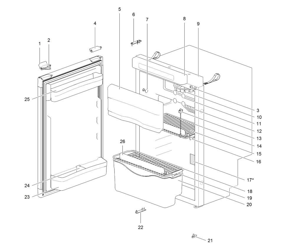 N3108 Refrigerator