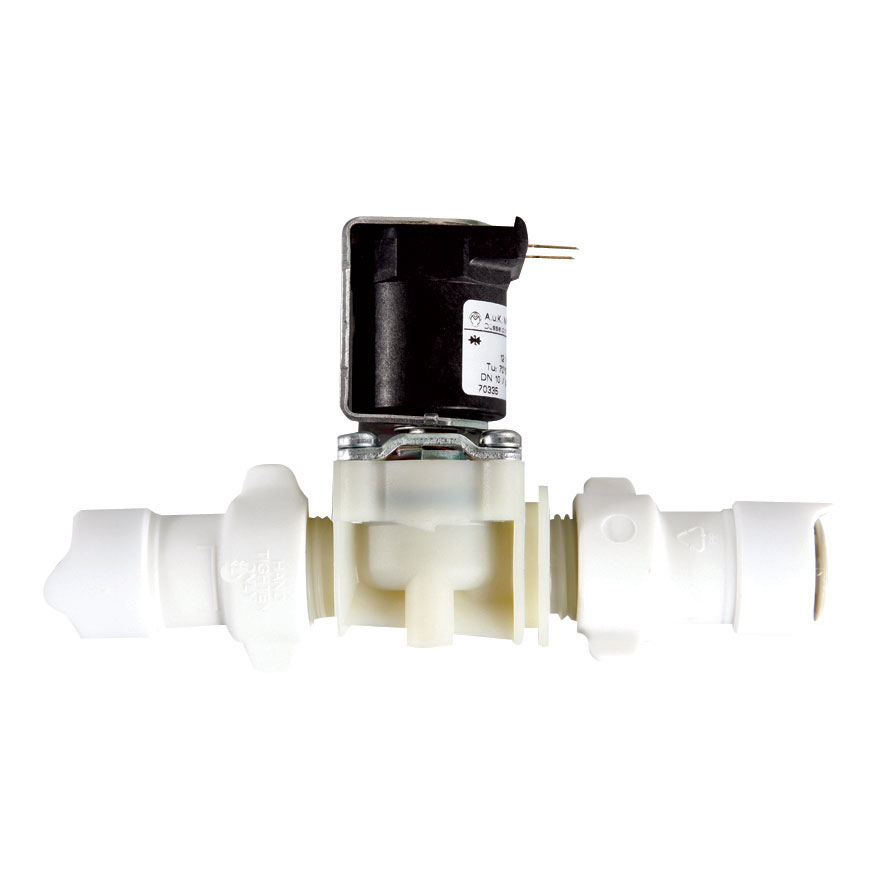 WWU1273B Whale 12mm Quick Connect Inline Solenoid Valve 1/2