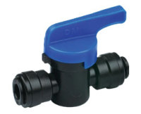 SPSOV12 Speed Plumb Push Fit 12mm Shut Off Valve
