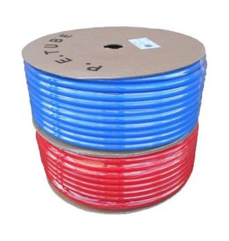 SPPE1209R Speed Plumb Push Fit 12mm LLDPE Hose Red (PER METRE)