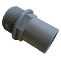"WD1421 Rigid Pipe Fitting 28mm - 1"" BSP Tank Connector"