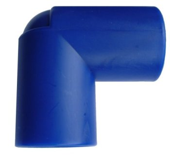 WD1325B (Blue) Rigid Pipe Connector 28mm P/F 90 Degree