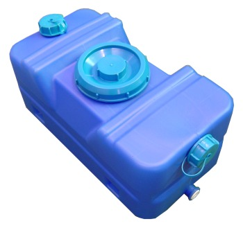 FWT030B (Blue) 30 Litre Fresh Water Tank