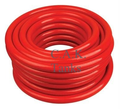 "H6H 10mm (3/8"") Red Reinforced Hot (PER METRE)"