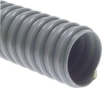 "H2SG 25mm (1"") Grey Superflex Waste Hose (PER METRE)"