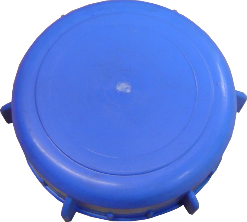 """THCAP3 3"""" Blue Threaded Access Hatch For Water Tanks"""