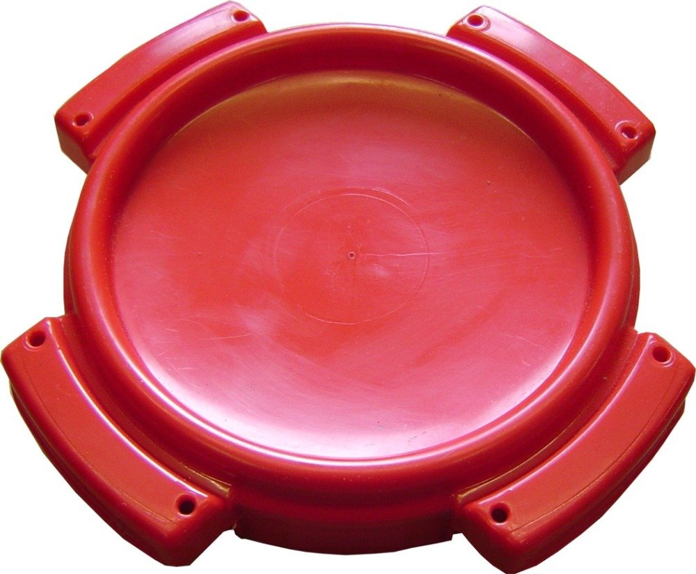 THCAP5 Red Threaded Access Hatch For Water Tanks