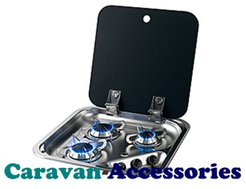CGH1347 CAN (Tri Burner Hob with Folding Glass Lid)