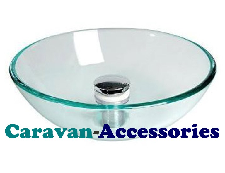 CGB1489 CAN (Concave Glass Sink) Waste NOT Included
