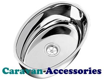 CLA1420 CAN (Oval Flat Bottom Sink)