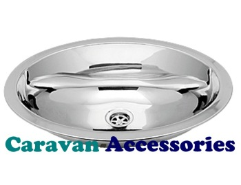 CLA1441 CAN Non-Brushed Stainless Steel (Oval Semi-Spherical Sink)
