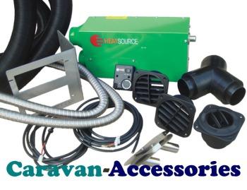 PX28124 Propex Heat Source 2800 Single Outlet 2800 Watt, 24 Volt Electric Air Heater (Full Kit)
