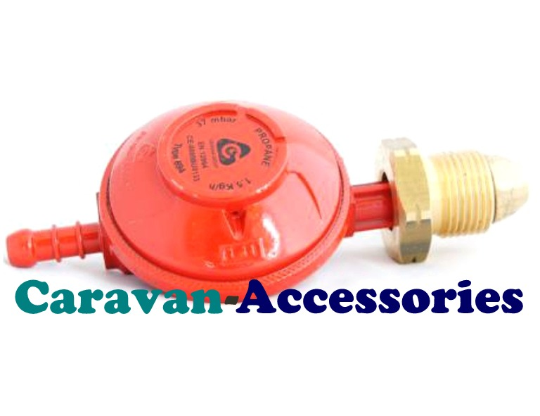 GRP37 Propane Regulator Nozzle Outlet 37mbar 1.5Kg/h
