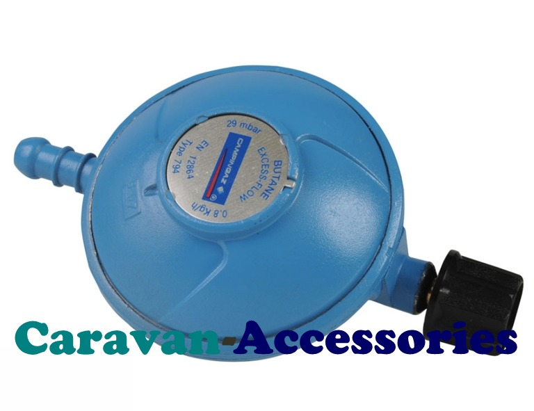 GRCG Camping Butane Regulator Nozzle Outlet 30mbar 0.8Kg/h