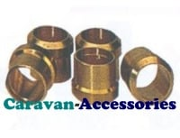 GBO 8mm Brass Olive For Valves & Connectors