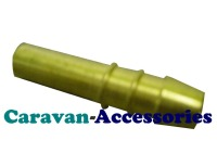 GBARB8 Straight 8mm Barb Fits any Fitting or Valve with 8mm Olive Connection