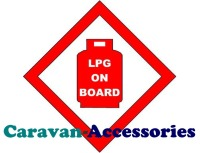 GLPGWS LPG On Board Sticker A Legal Requirement To Have One of These On The Gas Locker Door