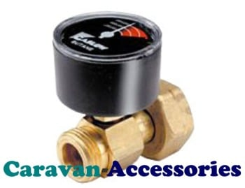 GSVB Gaslow Safety Valve & Pressure Gauge For Butane