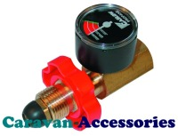 GSVP Gaslow Safety Valve & Pressure Gauge For Propane