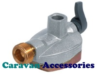 GCYADC27 27mm Adaptor Clip-On Gas Cylinder to Butane Pigtail