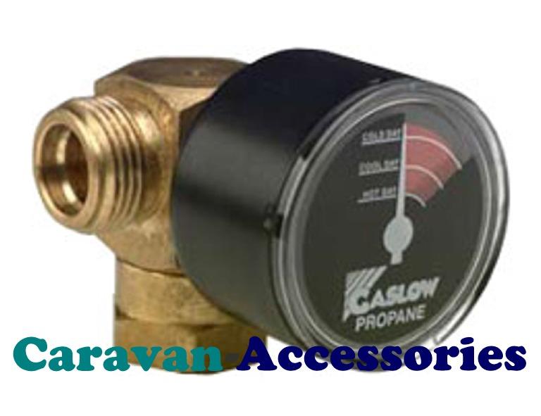 GRFC1630RFL Manual Changeover Valve & Gaslow Gauge For Propane