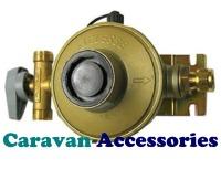 GREG1770 Gaslow 30mbar Clesse Caravan Regulator System - 8mm Copper Pipe