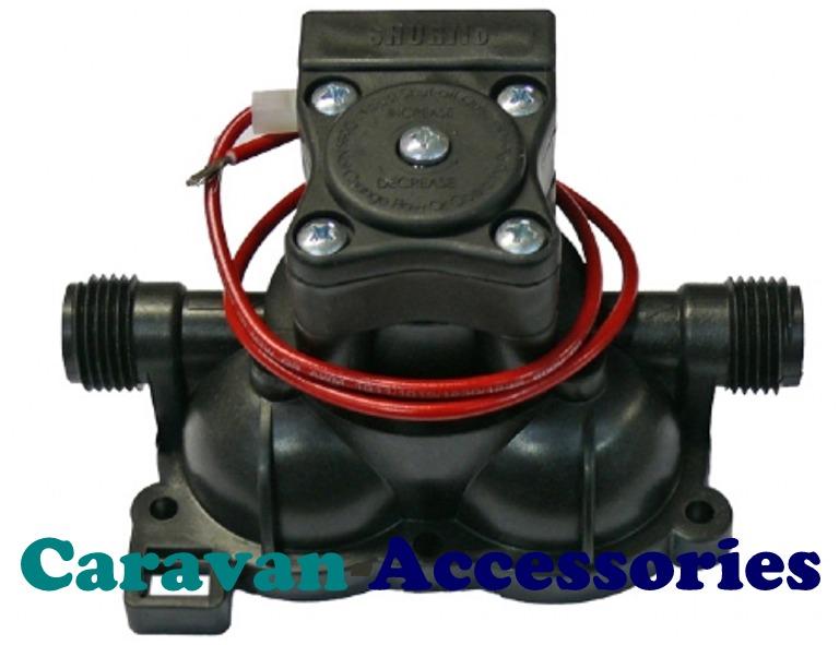 (1) SFS9423124 Shurflo Trailking Spare Upper Housing & 30psi Switch
