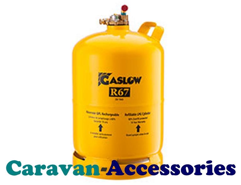 <!-- 005 -->GRFC4003GR67 Gaslow R67 2.7Kg Cylinder 1 4.6 Litres @ (80%) Out