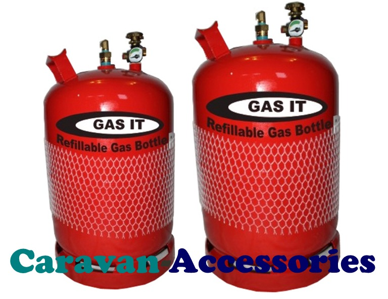 GRB06G Gas-It Vapor Refillable 11Kg Gas Bottle With Gauge