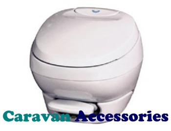 TLTAMBL THETFORD Bravura Low Model Pedal Operated Permanent Toilet